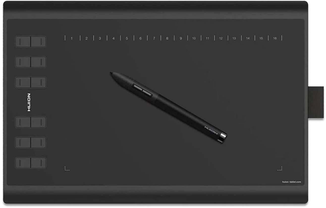 Huion 1060 Plus Stift-Tablett (12 Zoll)