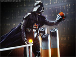 Darth Vader: Photoshop Retusche