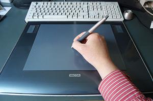 Grafiktablett zu Zeichnen am PC