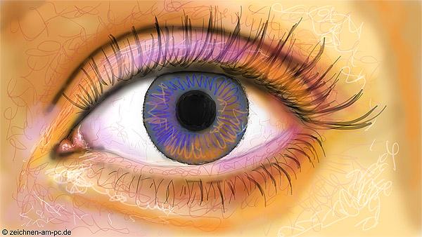 Digital zeichnen mit Farbe